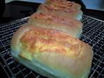 生ハムチーズのミニ食パン